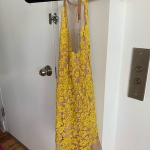 For Love And Lemons Dresses - For love and lemons luau dress in yellow